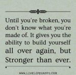 Stronger than ever ...
