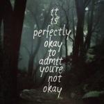 It's okay ...