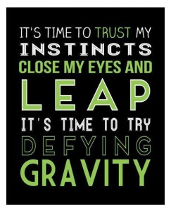 Leap And The Net WILL Appear ... Trust.