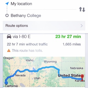 The Distance From Where I Am to Where Nate Is ...